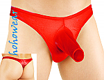 Bombshell Mens Open Front Gloved Thong Underwear#131
